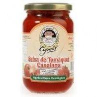 Salsa de tomate bio casera con avellanas y almendras 350 gramoscapell