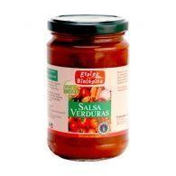 Salsa de verduras eco 300 gramos espiga bio