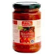 Salsa boloñesa vegetal eco 300 gramos espiga bio