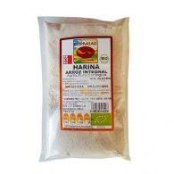 Harina de arroz integral bio sin gluten 500 gramos bioprasad