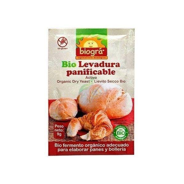 Levadura panificable bio sin gluten biogra