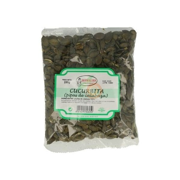 Calabaza semillas 250 gramos intracma