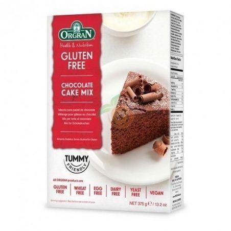 Mix pastel de chocolate sin gluten orgran