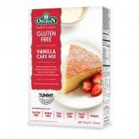Preparado pastel de vainilla sin gluten orgran