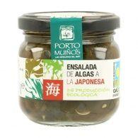 Ensalada de algas a la japonesa eco 170 gramos porto muiños