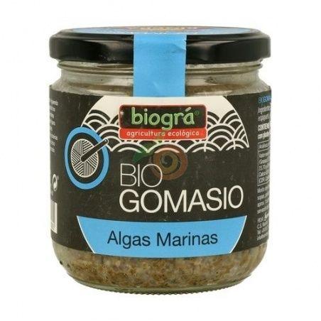 Gomasio bio algas marinas 120 gramos biogra