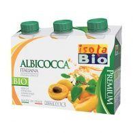 Zumo albaricoque con agave 3 x 200 ml isola bio