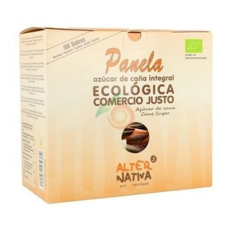 Azucar panela en sobres bio comercio justo alternativa 3