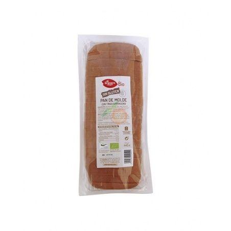 Pan de molde con trigo sarraceno bio sin gluten 445 g granero integral