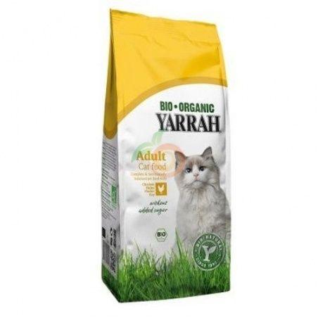 Pienso de pollo para gatos bio 10 kg yarrah