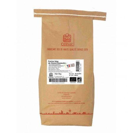 Harina de espelta integral bio 5 kg celnat