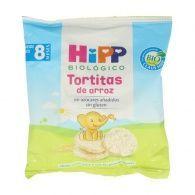 Tortitas de arroz bio 8 meses hipp