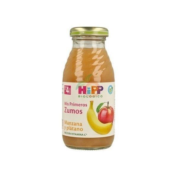 Zumo platano y manzana bio 4 meses hipp