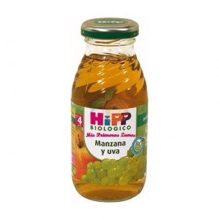 Zumo manzana y uva bio 4 meses hipp