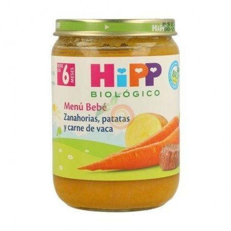 Potitos bio zanahorias, patatas y carne 6 meses hipp