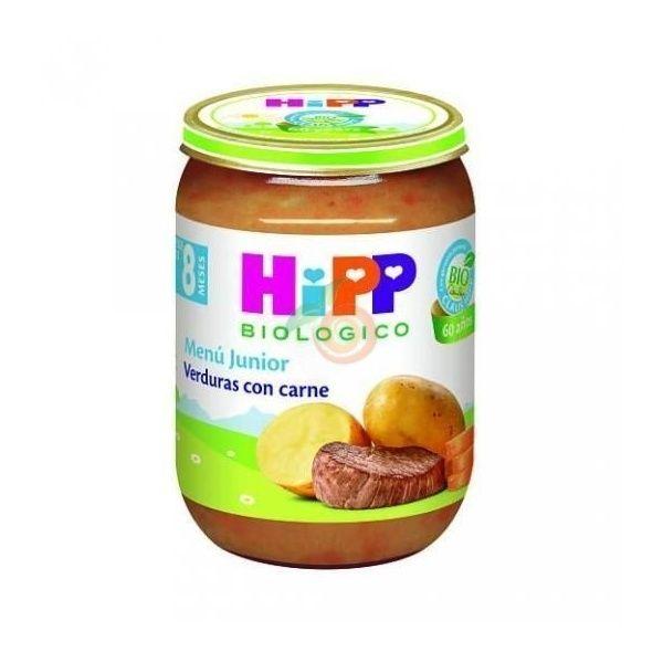 Potitos bio verduras con ternera 8 meses hipp