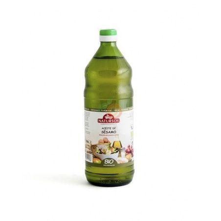 Aceite de semillas de sésamo 1 litro bio natursoy