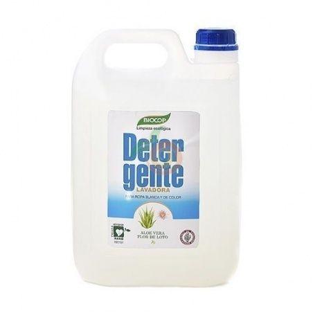 Detergente lavadora aloe flor loto 5 litros biocop