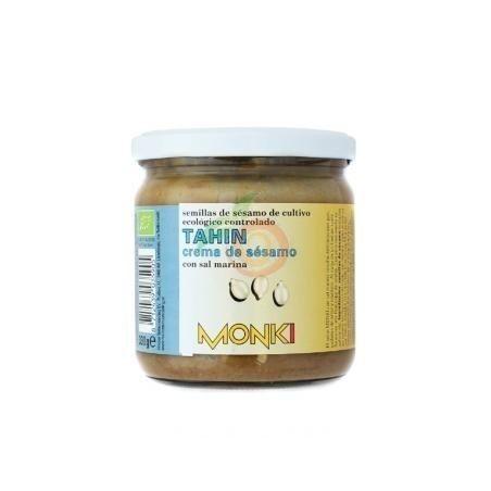 Tahin tostado con sal bio 330 gramos monki