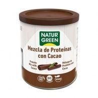 Mezcla de proteinas con cacao bio 250 gramos naturgreen