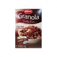 Granola muesli con chocolate y almendras sin gluten 340 gramos emco