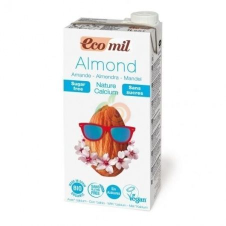 Bebida de almendra sin azucar calcio bio 1 litro ecomil