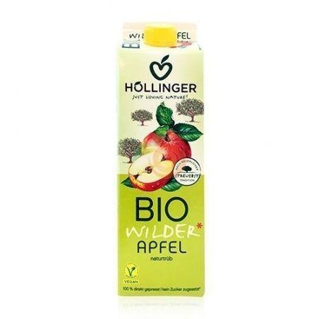 Zumo de manzana bio sin azucar 1 litro hollinger