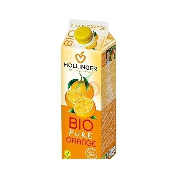 Zumo naranja bio 1 litro hollinger