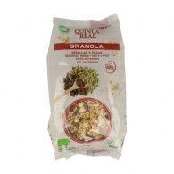 Granola de semillas y pasas 360 gramos quinua real