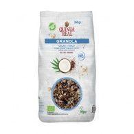 Granola de cacao y coco 360 gramos quinua real