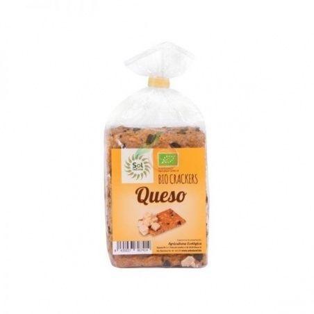 Crackers de espelta semillas bio 200 gramos solnatural