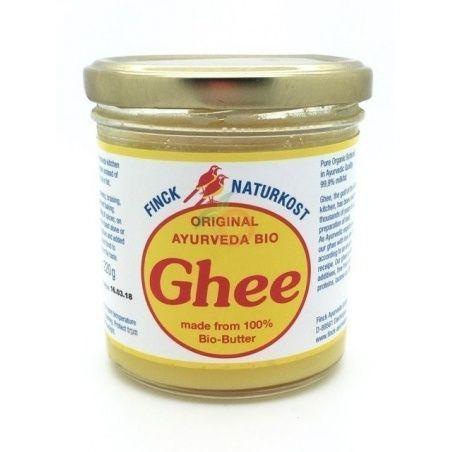Mantequilla clarificada ghee ayurveda 220 gramos fink