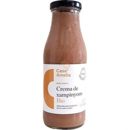 Crema de champiñones bio 490 ml casa amella