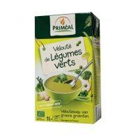 Crema de verduras verde bio 1 litro primeal