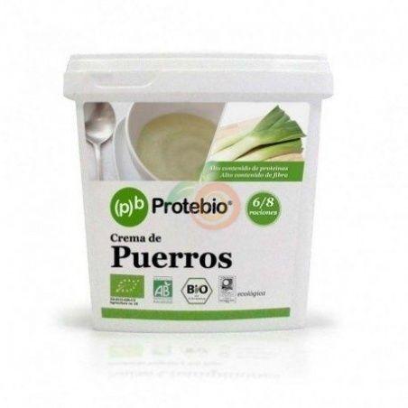 Crema puerros bio 250 gramos protebio