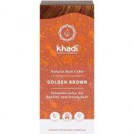 Tinte natural color castaño claro 100 gramos  khadi