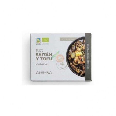 Seitán y tofu tradicional 280 gramos ahimsa