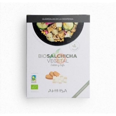Salchicha seitán tofu eco 200 gramos ahinsa