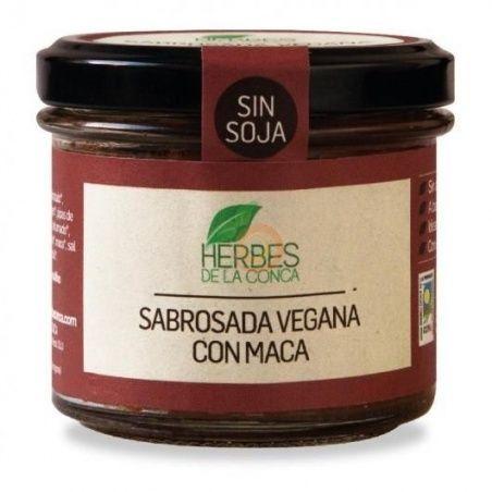 Sobrasada vegana con maca eco 110 gramos herbes de la conca