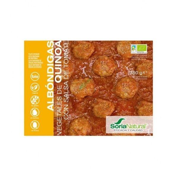 Albondigas de quinoa con salsa de tomate 350 gramos soria natural