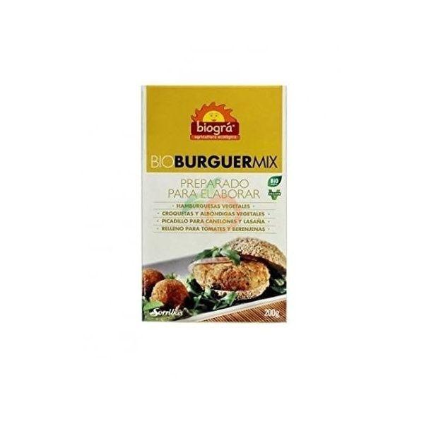 Bio burguer mix 200 gramos biogra