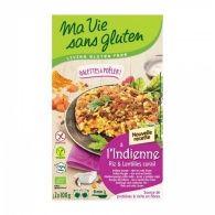 Hamburguesa de quinoa y alubias rojas bio ma vie sans gluten