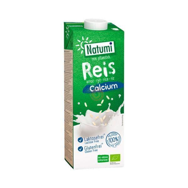 Bebida de arroz con calcio 1 litro de natumi