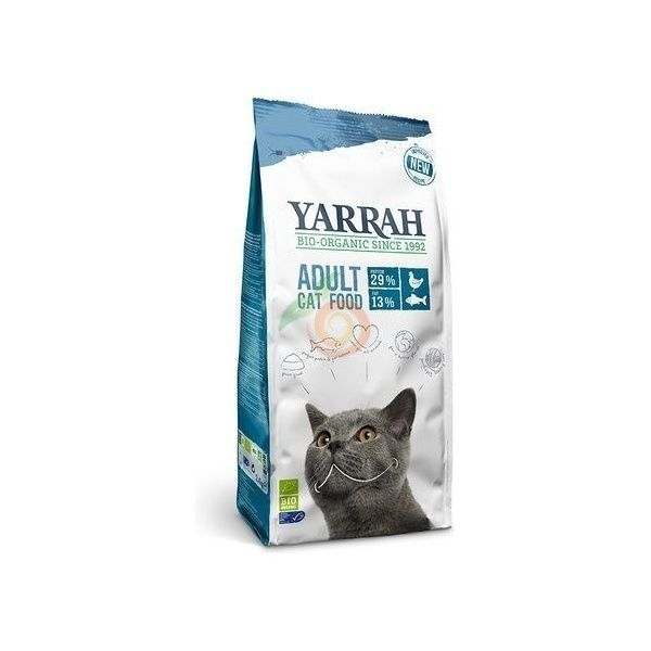 Pienso de pollo y pescado para gatos 2,4 kg yarrah