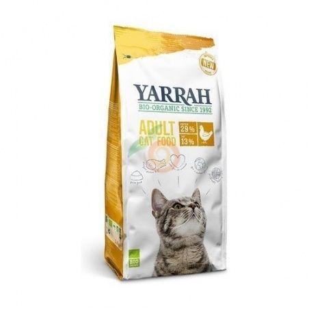 Pienso de pollo para gatos bio 2,4 kg yarrah