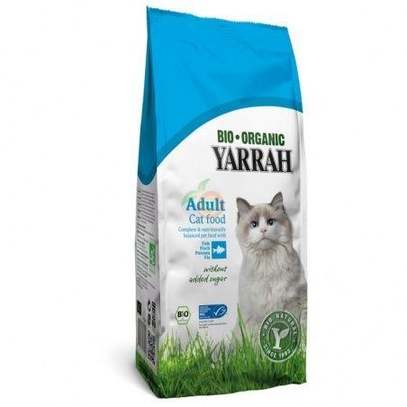 Pienso de pescado y pollo sin cereales para gatos 800 gramos yarrah