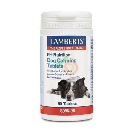 Pet nutrition dog calming comprimidos lamberts