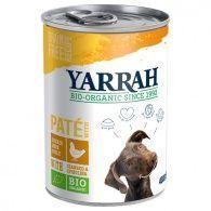 Lata de comida para perros bio 400 gramos yarrah