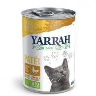 Paté de pollo para gatos lata 400 gramos yarrah