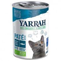 Paté de pescado gatos lata 400 gramos yarrah